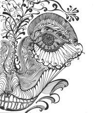 Schwarzweiß, Zeichnungen