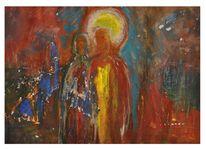 Jesus, Judas, Verrat, Malerei