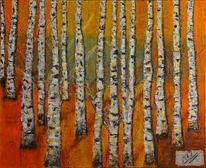 Baum, Zauberwald, Wald, Birken