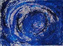 Ölmalerei, Divineblueprint, Verbindung, Blaupause