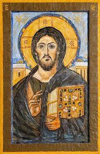 Enkaustik, Jesus, Wachs, Pigmente
