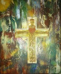 Kruzifix, Erlösung, Wachs, Herz jesu