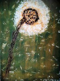 Leichtigkeit, Ölmalerei, Vergänglichkeit, Wespennest