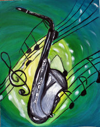 Musik, Jazz, Malerei,