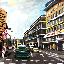 Malerei, Innenstadt