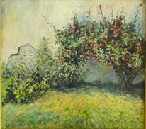 Sonne, Arrangement, Malen, Gemälde