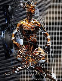 Broglie, Bohm, Theorie, Digitale kunst
