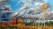 Herbst, Gelb, Malerei