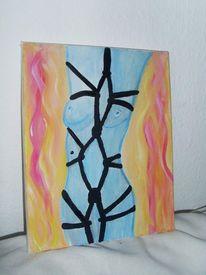 Acryl aufleinwand, Malerei