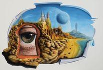 Fantasie, Vorstellungsvermögen, Surreal, Augen