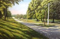 Ölmalerei, Ukraine, Landschaft, Malerei