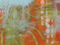 Struktur, Farben, Abstrakt, Malerei