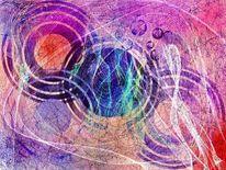 Farbenkugelspiele, Malerei