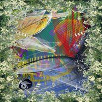 Traumland, Fisch, Digitale kunst