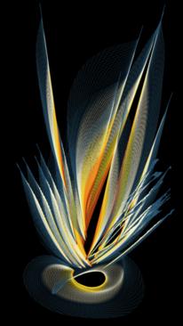 Leuchtkraft, Fruchtblume, Digitale kunst, Handy