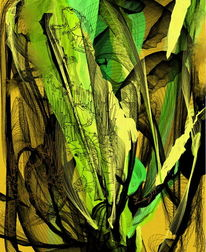 Frosch, Treffen, Digitale kunst
