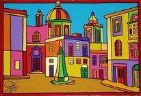 Birgu, Vittoriosa, Malta, Malerei