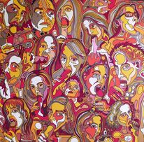 Blow job, Malerei, 2012