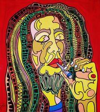 Bob marley, Reggae, Malerei