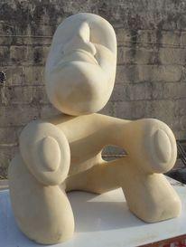 Skulptur, Malta, Stein, Kalkstein