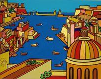 Malta, Birgu, Valletta, Hafen