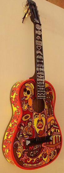 Mardi gras, Amerika, Musik, Gitarre