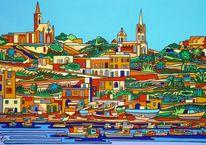 Gozo, Malta, Hafen, Boot