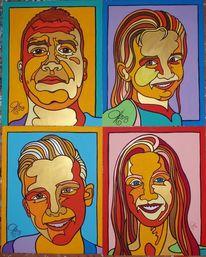 Familie, Malerei,