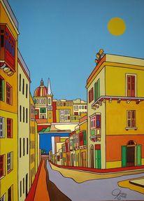 Malta, Valletta, Sliema, Malerei