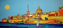 Malta, Sliema, Valletta, Malerei