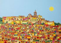 Malta, Gozo, Malerei,