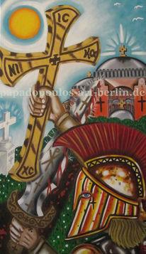 Spartaner, Christentum, Himmel, Sieg