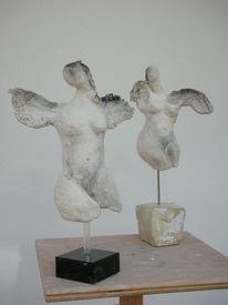 Engel, Flügel, Kind, Verbrennen