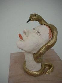 Zunge, Schlange, Züngeln, Frau