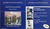 Hafengalerie, Neustrelitz, Pinnwand,