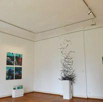 Abstrakt, Ausstellung, Paperart, Installation