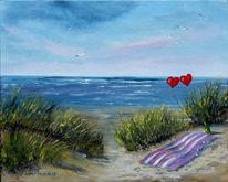 Ostsee, Liebe, Erinnerung, Welle
