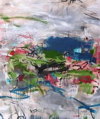 Fluss, Pink, Natur, Abstrakt