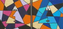 Figur, Geometrie, Malerei, Fantasie