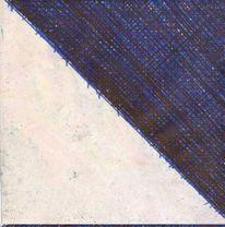 Dreieck, Artbrut, 2013, Malerei