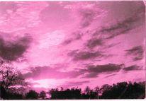 Sonnenuntergang, Viragierung, Artbrut, Fotografie