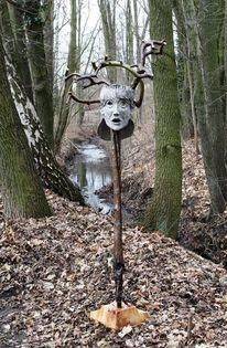 Weide, Skulptur, Gegenständlich, Plastik