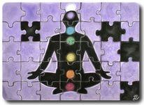 Puzzle, Frieden, Chakra, Buddhismus