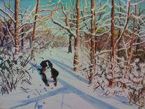 Wald, Winter, Berner, Baum