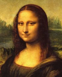 Mona lisa, Pinnwand