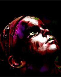 Schmerz, Malerei, Leid, Gesicht