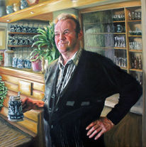 Kneipe, Wirt, Portrait, Bayer