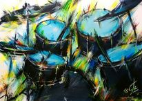 Instrument, Trommel, Becken, Schlagzeug