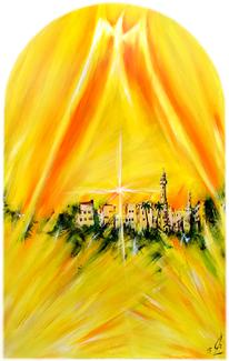 Weihnachten, Kapellengestaltung, Kapelle, Kreuz