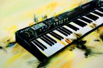 Instrument, Tastatur, Musik, Band